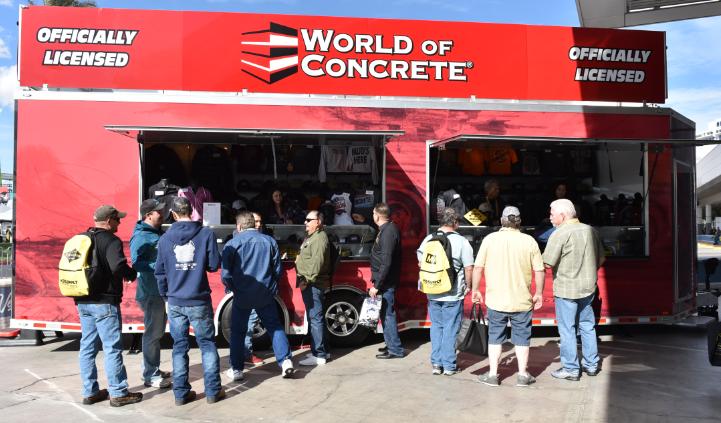 World of concrete 2021 las vegas | woc mobile truck | world of concrete 2021